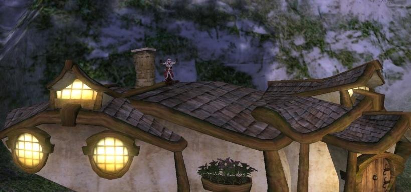 Xmas hobbit with chimney - edit